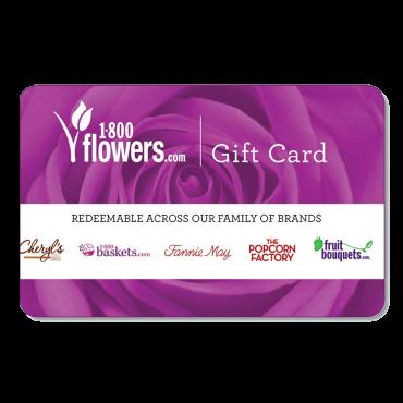 1-800-flowers.com Gift Card $25