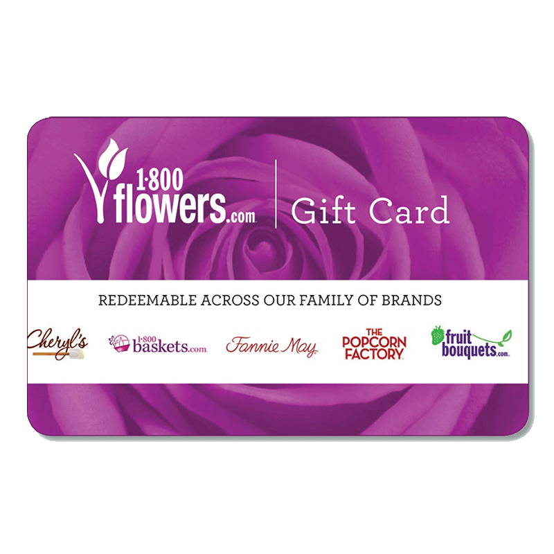 1-800-flowers.com Gift Card $10