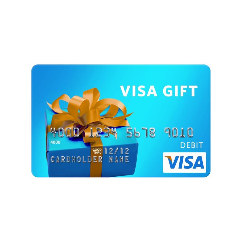 Visa Gift card $300