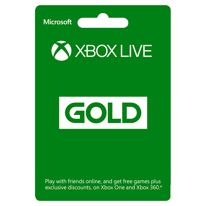 Xbox Live Gold Canada Gift Card 44.99 CAD